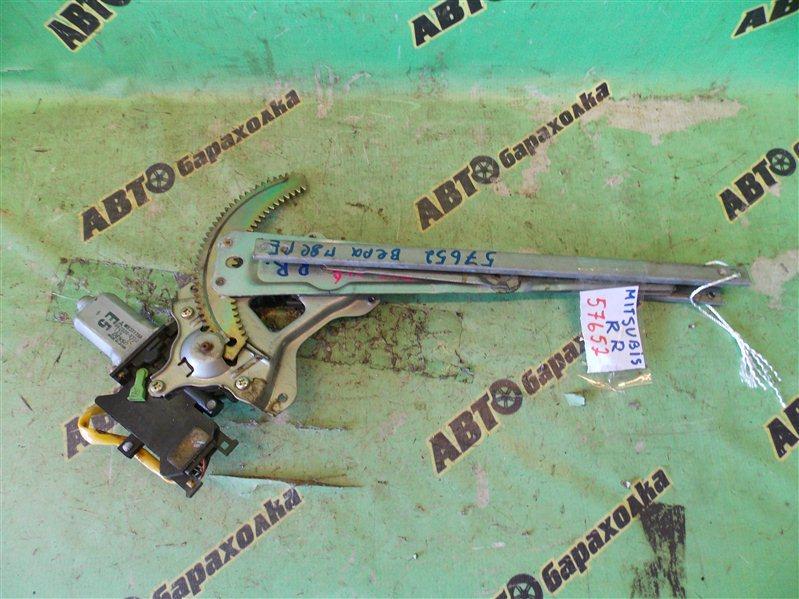 Стеклоподъемник Mitsubishi Pajero Io H67W 4G94 задний правый