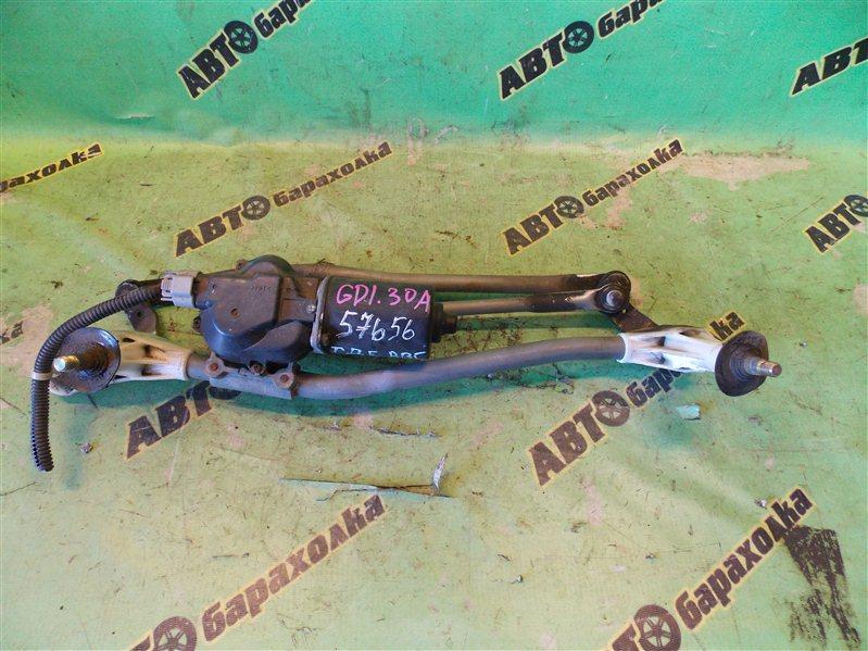Механизм дворников Honda Fit GD1 L13A 2002 передний