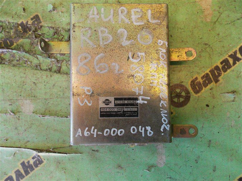 Блок переключения кпп Nissan Laurel HC34 RB20
