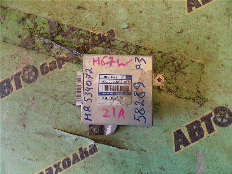 Блок переключения акпп Mitsubishi Pajero Io H67W 4G94