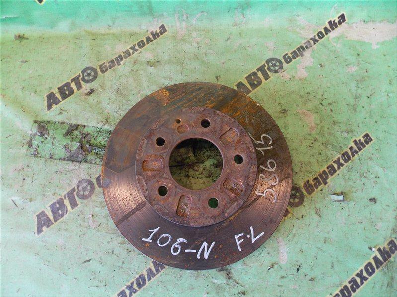 Диск тормозной Mazda Bongo Friendee SGLR WL-T 1995 передний левый