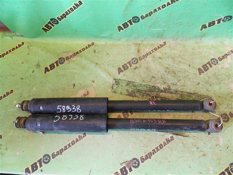 Амортизатор Nissan Lafesta B30 MR20(DE) 2004 задний