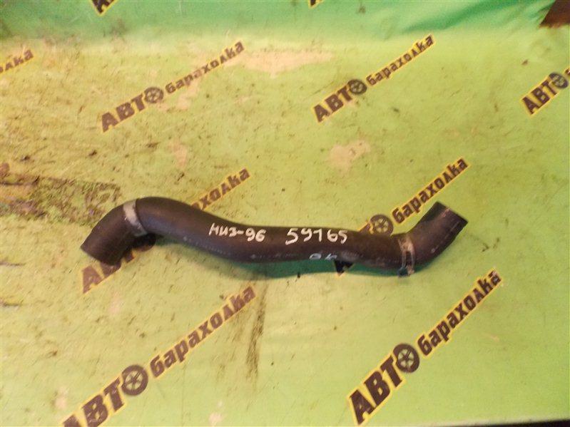 Патрубок радиатора Nissan Presage U30 KA24(DE) 2001 нижний