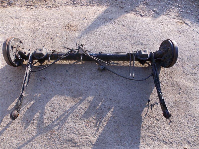 Балка со ступицами Nissan Presage U30 KA24(DE) 2001 задняя