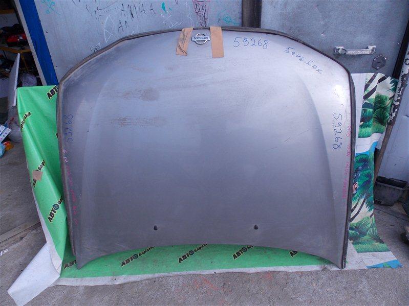 Капот Nissan Bluebird Sylphy QG10