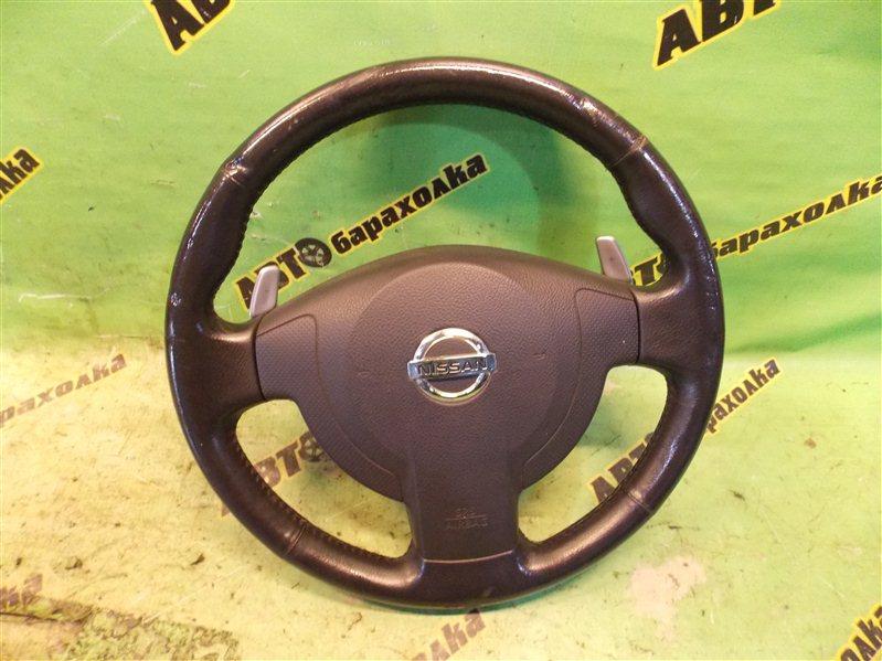 Руль с airbag Nissan Lafesta B30 MR20(DE) 2004