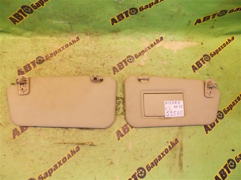 Козырек солнцезащитный Nissan March AK12 CR12 2008