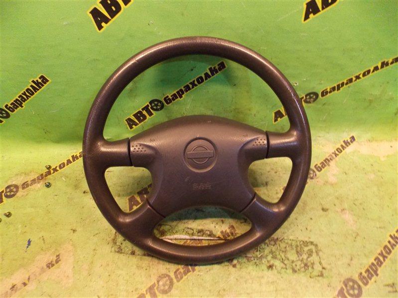 Руль с airbag Nissan Ad VFY11 QG15(DE) 1999