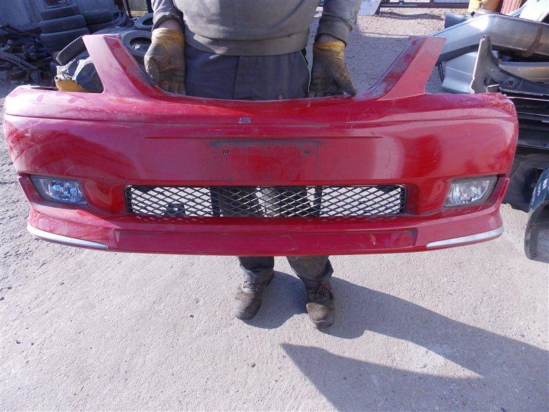 Бампер Mazda Mpv LW5W передний