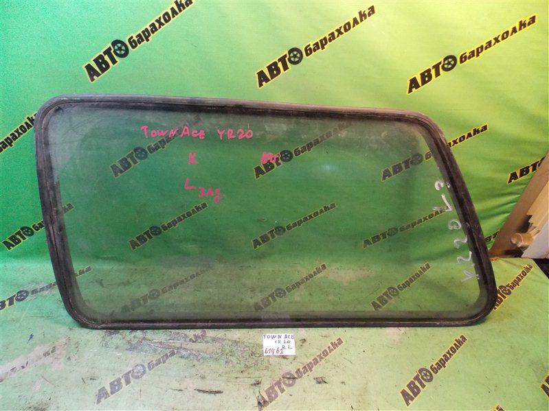 Стекло собачника Toyota Town Ace YR20 заднее левое