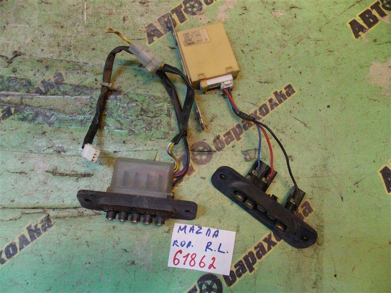 Контактная группа сдвижной двери Mazda Bongo Friendee SGLR WL-T 1995 задняя левая