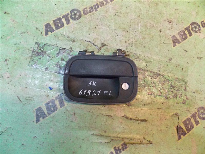 Ручка двери внешняя Mitsubishi Rvr N23W 4G63 передняя левая