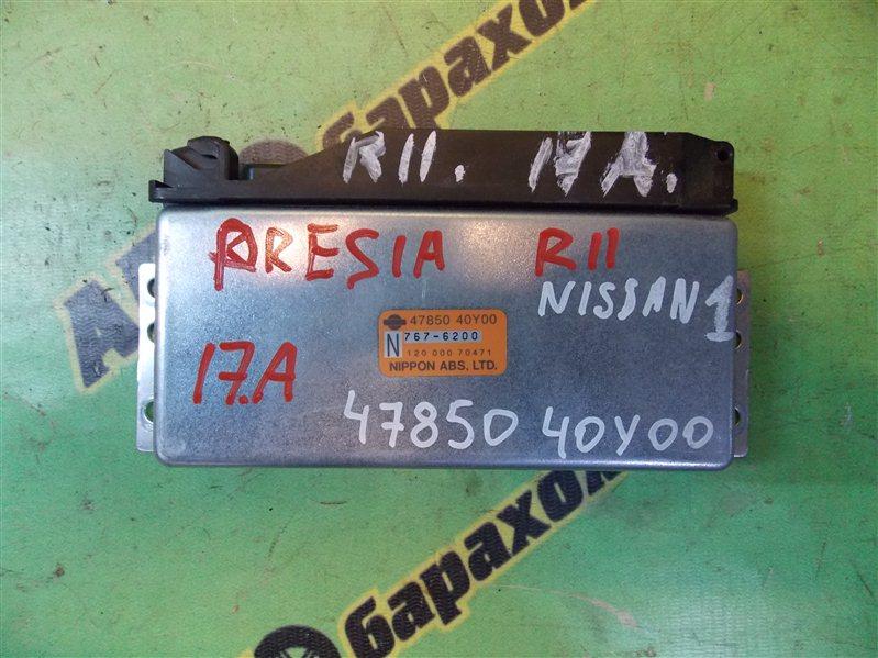 Блок управления abs Nissan Presea R11 GA15(DE) 1997