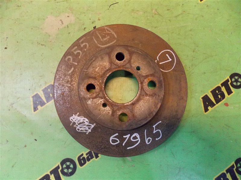 Диск тормозной Toyota Probox NCP55 передний левый