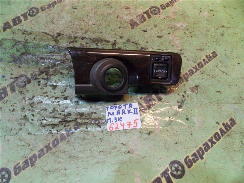 Консоль под щиток приборов Toyota Mark Ii GX100 1G-FE 1996