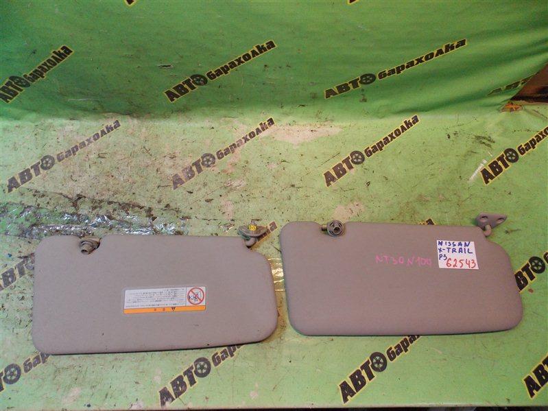 Козырек солнцезащитный Nissan X-Trail NT30 QR20(DE) 2004