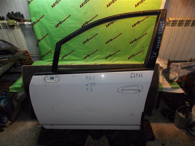 Дверь Honda Stream RN1 D17A 2004 передняя левая