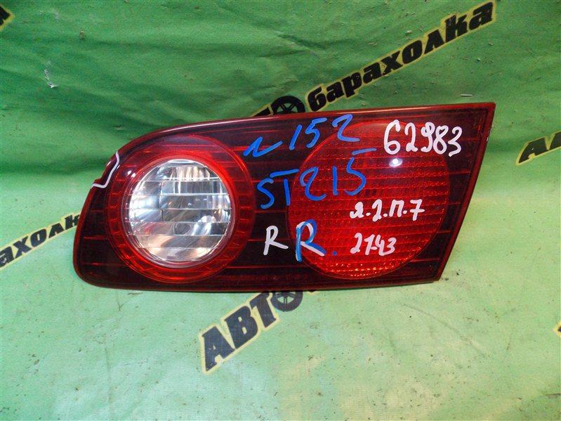 Вставка между стопов Toyota Caldina ST215 3S-FE 1999 задняя правая