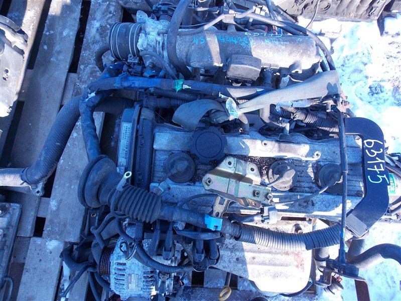 Двигатель Toyota Chaser SX100 4S-FE 1999