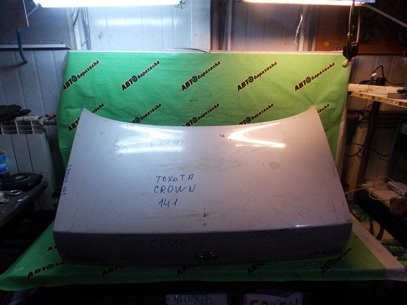 Крышка багажника Toyota Crown JZS 141 задняя