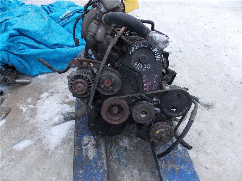 Двигатель Mitsubishi Pajero Mini H53A 4A30