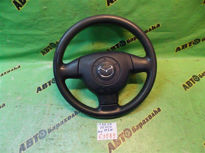 Руль с airbag Mazda Demio DY5W ZY 2004