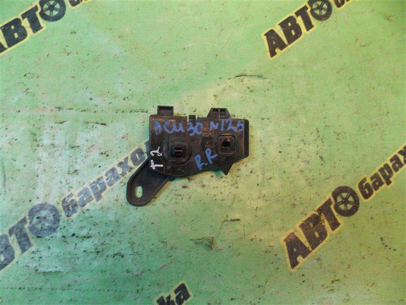 Крепление бампера Toyota Harrier ACU30 2AZ-FE 2005 заднее правое
