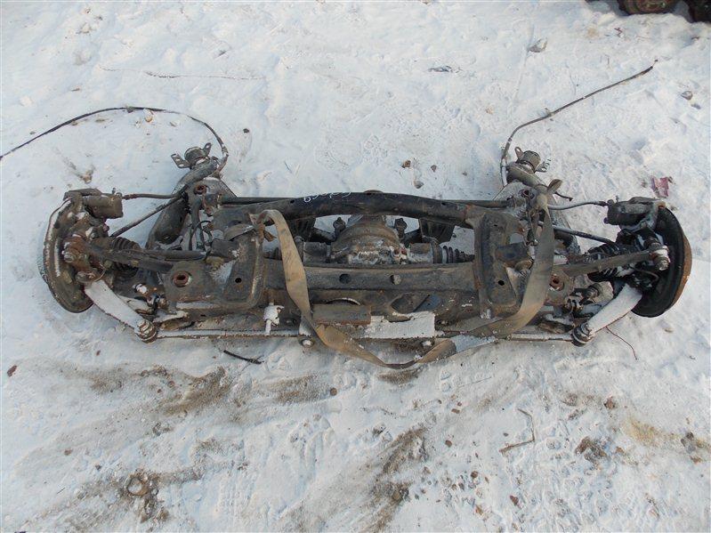 Балка со ступицами Toyota Caldina ST246 3S-GTE задняя