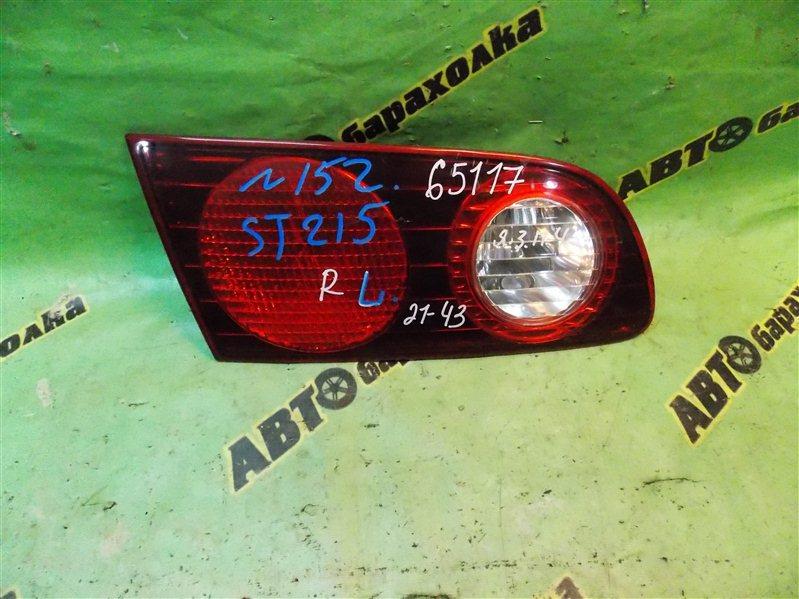 Вставка между стопов Toyota Caldina ST215 3S-FE 1999