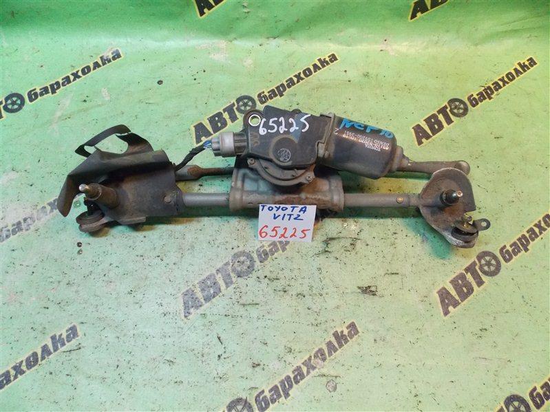 Механизм дворников Toyota Vitz NCP10 2NZ-FE 2000