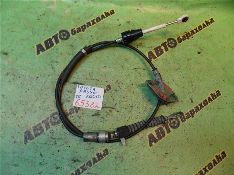 Трос переключения акпп Toyota Passo KGC10 1KR-FE 2008