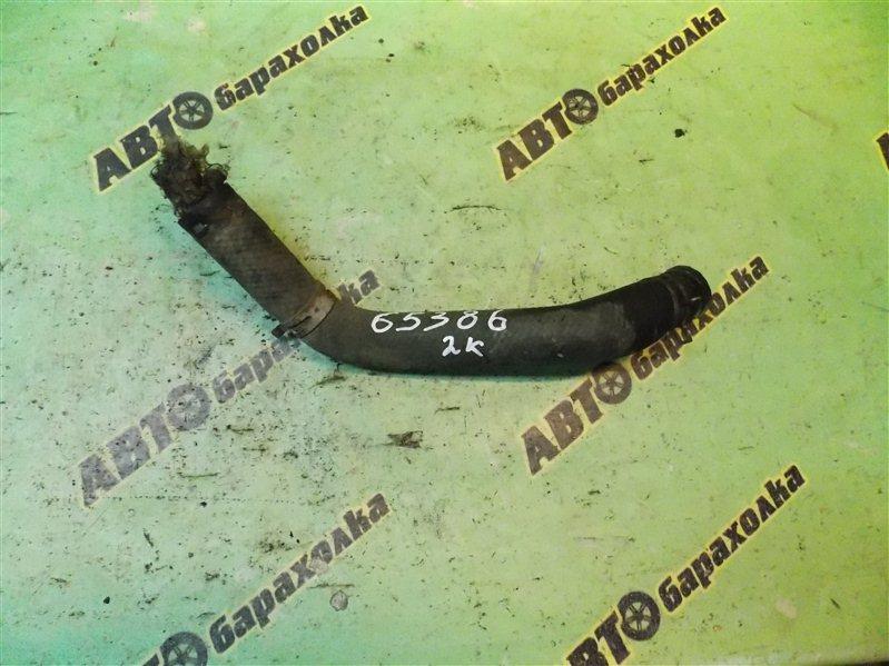 Патрубок радиатора Toyota Liteace Noah SR50 3S-FE 1997 нижний