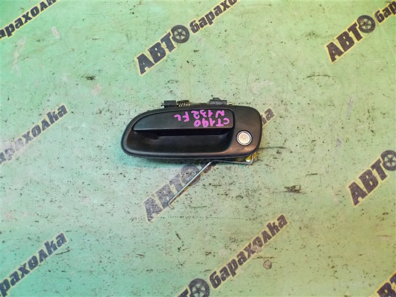 Ручка двери внешняя Toyota Corona CT190 2C 1993 передняя левая