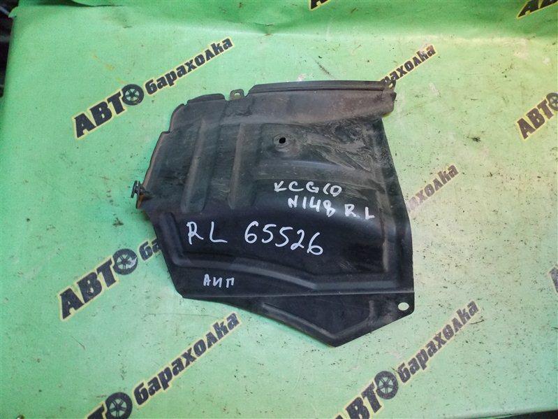 Подкрылок Toyota Passo KGC10 1KR-FE 2008 задний левый