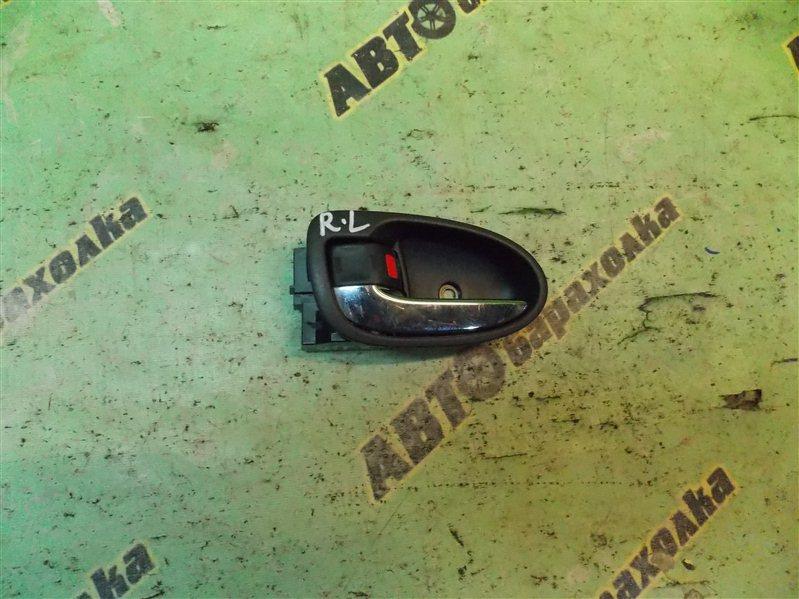 Ручка двери внутренняя Toyota Vitz NCP90 1NZ-FE задняя левая