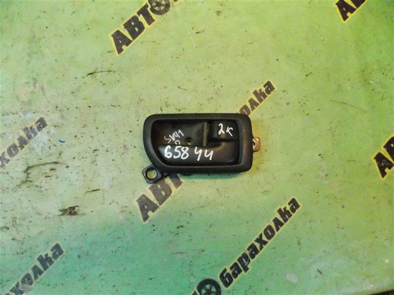 Ручка двери внутренняя Toyota Camry SV41 передняя правая