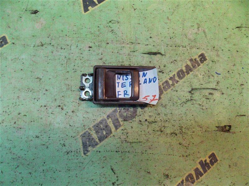 Ручка двери внутренняя Nissan Terrano WBYD21 TD27 1989 передняя правая