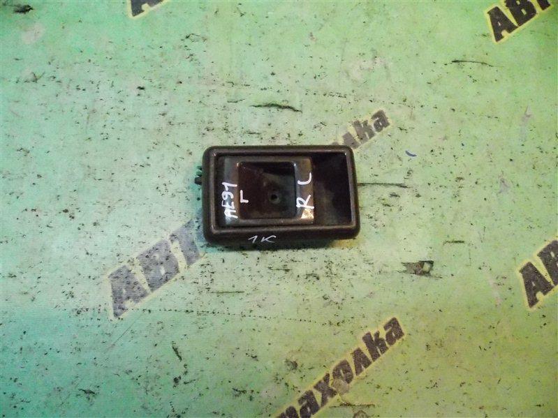Ручка двери внутренняя Toyota Sprinter Carib AE95 задняя левая