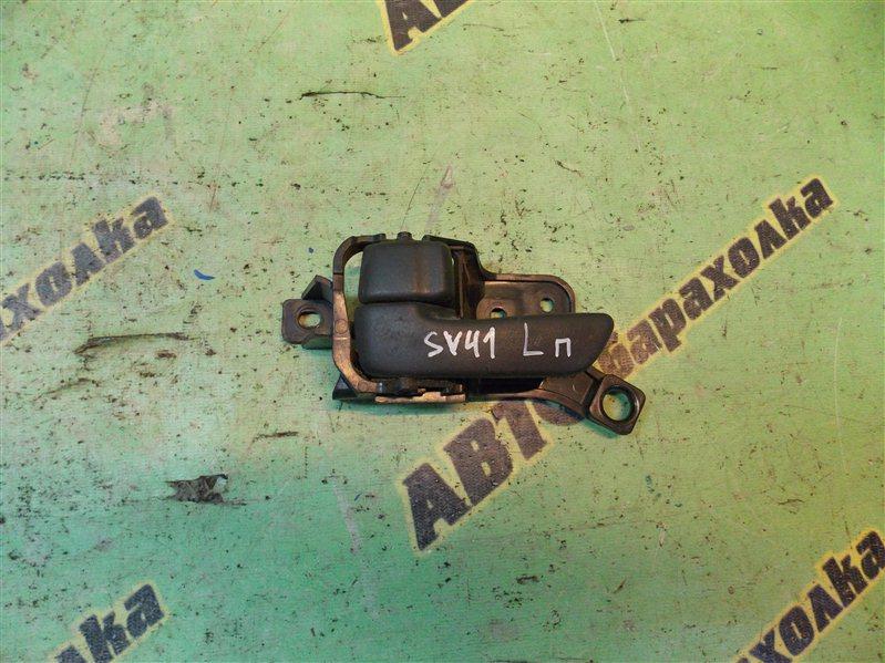 Ручка двери внутренняя Toyota Camry SV41 передняя левая