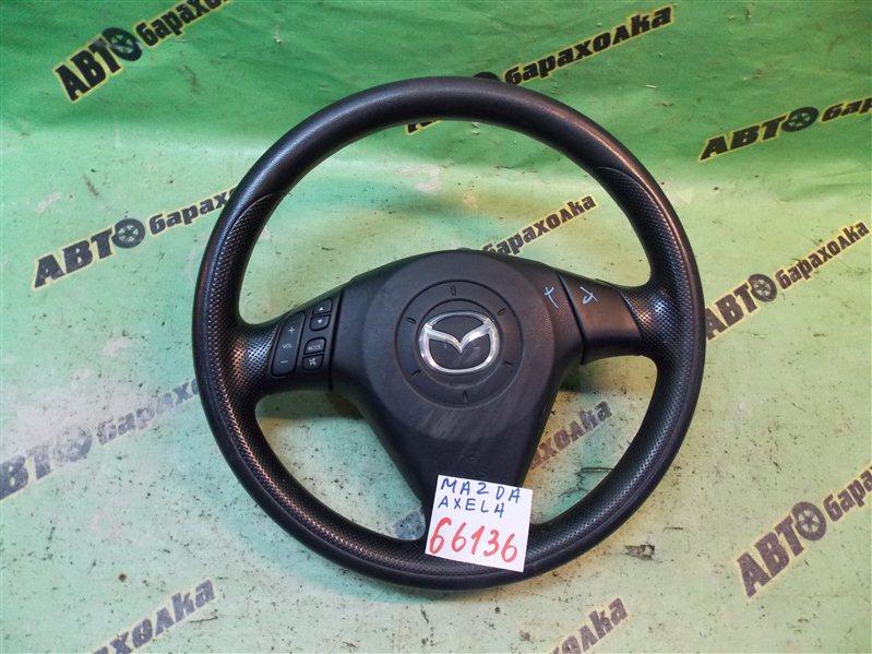 Руль с airbag Mazda Axela BK5P ZY 2009