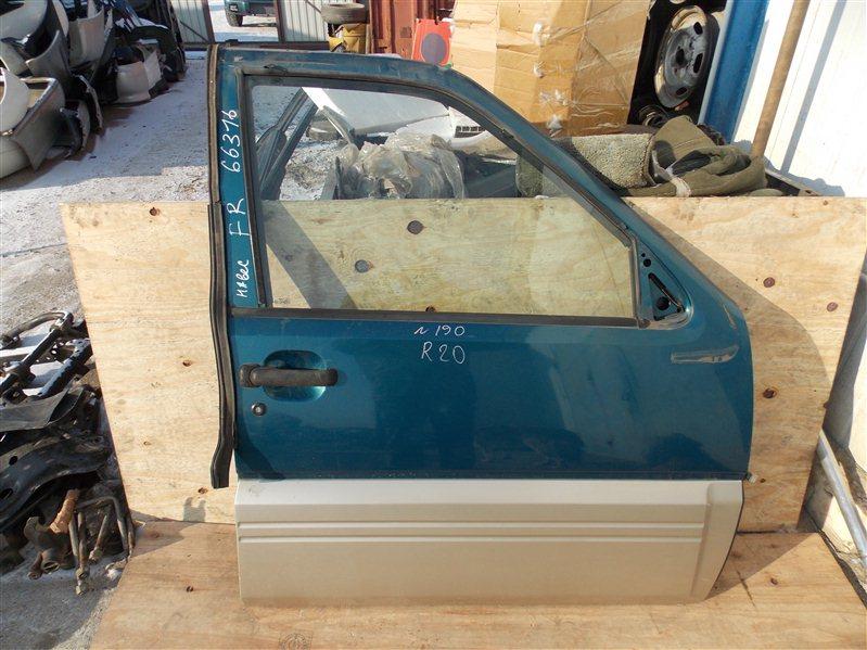 Дверь Nissan Mistral R20 TD27T передняя правая
