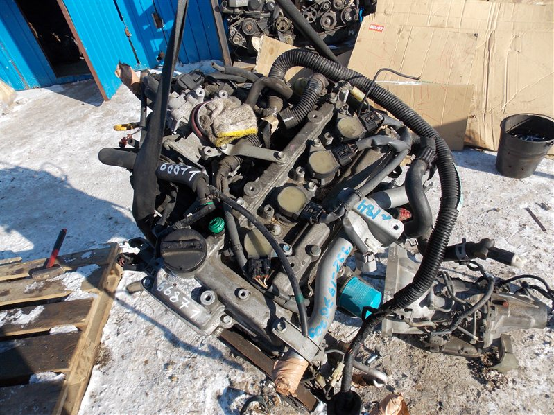 Двигатель Toyota Rush J200E 3SZ-FE 2005