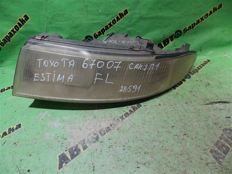 Фара Toyota Emina CXR20 передняя левая