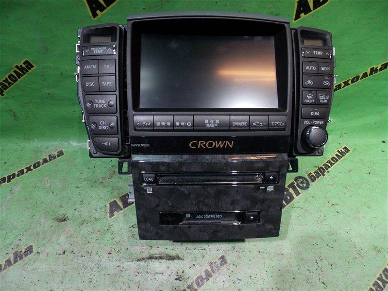 Монитор Toyota Crown GRS182 3GR-FSE 2004