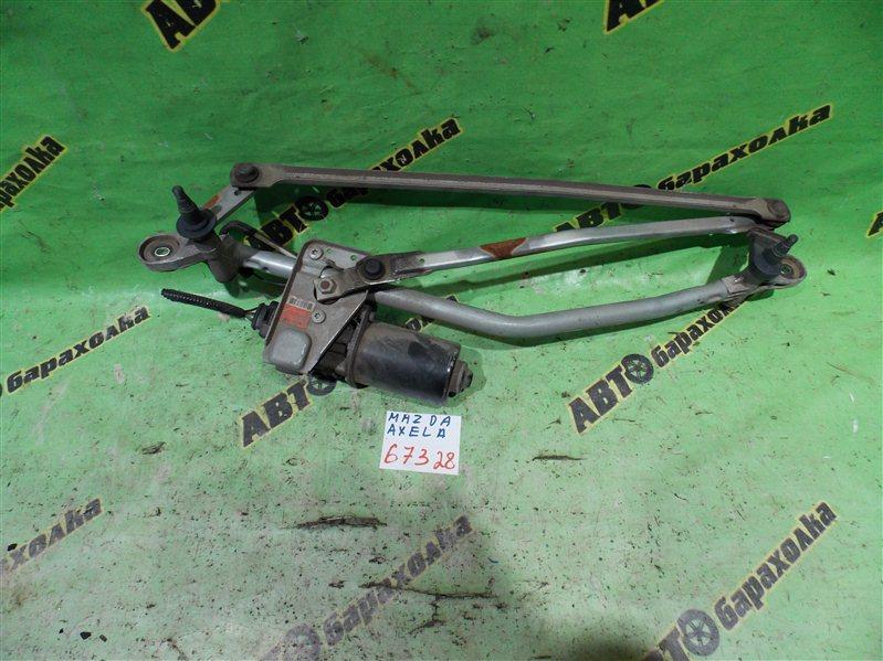 Механизм дворников Mazda Axela BK5P ZY 2009