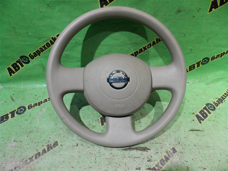 Руль с airbag Nissan March AK12 CR12(DE) 2003