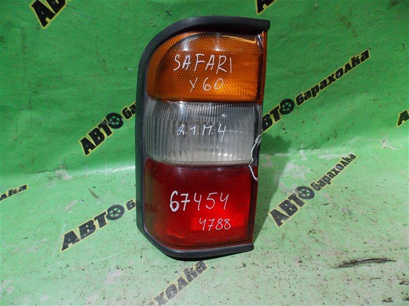 Стоп Nissan Safari Y60 задний левый