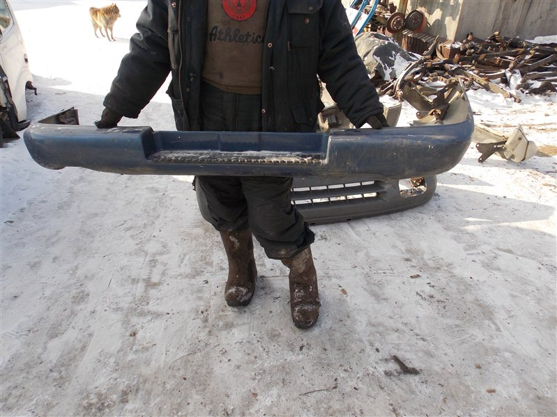 Бампер Isuzu Bighorn UBS69 задний