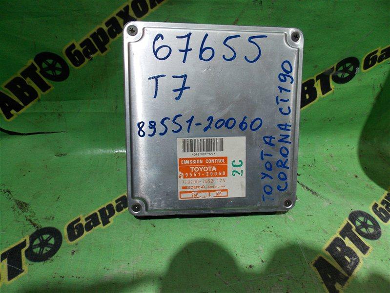 Блок efi Toyota Corona CT190 2C 1993