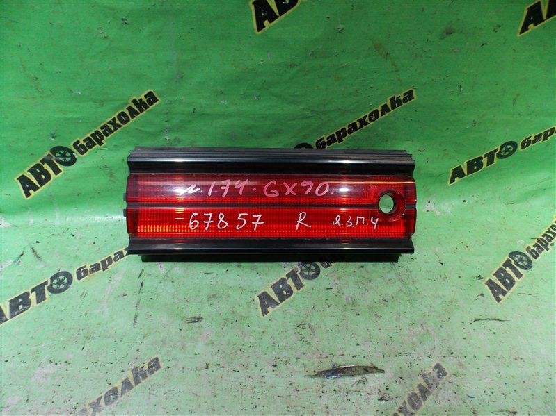 Вставка между стопов Toyota Mark Ii GX90 1G-FE 1995 задняя